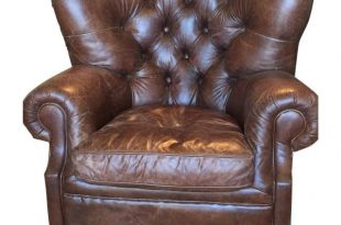 Tufted Leather Club Chair   Stühle   Pinterest   Club chairs