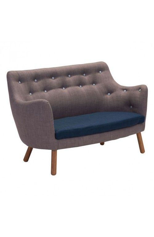 Zuo Modern Liege Settee Gray | Products | Pinterest | Products