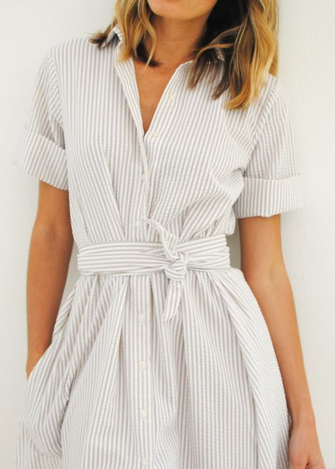 50+ Beauty Shirtdresses Style Inspirations    Business kleidung.
