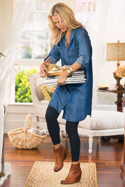 50+ Beauty Shirtdresses Style Inspirations    Outfit ideen, Outfit.